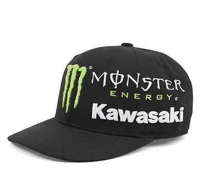 Monster Energy Kawasaki Alliance Cap Fitted Large 7 1/2