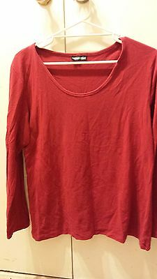 Maternity Plus Red Size 18 top