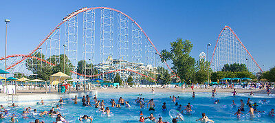 2 Cedar Point Tickets Valid Any Operating Day Until 09/04/2017 - Fast Delivery!