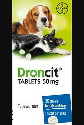 Droncit Tapeworm Tablet For Dogs and Cats
