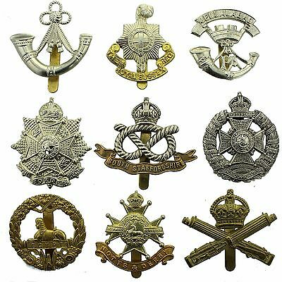 VARIOUS Restrike British Army Military INFANTRY Cap Badges REPLICAS / COPIES