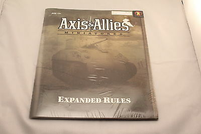 Axis and Allies Expanded Rules Brand New