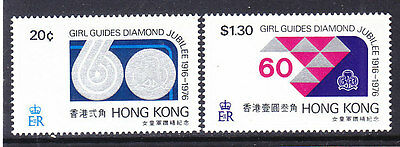 Hong Kong, Scouting, Girl Guides - Scouts, Mnh Stamps, Lot - 13