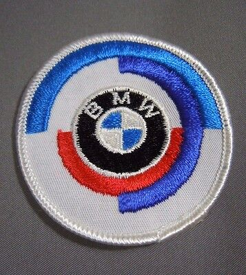 "BMW Motorsport Embroidered Iron-On Automotive Car Patch 2.5"" Roundel"