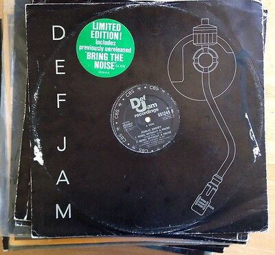 "Public Enemy - Rebel Without A Pause 12"" NWA Pete Rock CL Smooth DJ Shadow Krush"