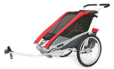 Thule Chariot Cougar 1 rosso