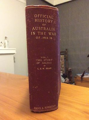 Official History Of Australia In The War Of 1914-18 - Gallipoli