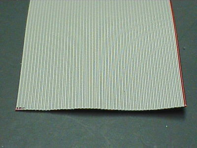 """Per Foot, 50 Conductor Ribbon Cable, 28(7x36) AWG, 0.05"""" (1.27mm) Pitch Spacing"""