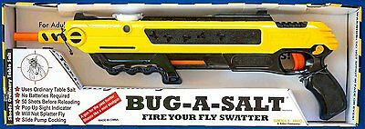 Fly Repellent Bug a Salt  Pest Flies Swatter Blasts Shotgun Spray House Garden