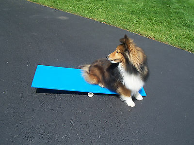 Agility Gear Tippy Board ( Puppy Dog Agility Teeter ) - Dog Agility Equipment