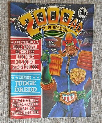 2000 AD Sci- Fi Special 1985: Excellent Condition