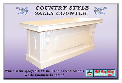 Country Style Shop and reception counter