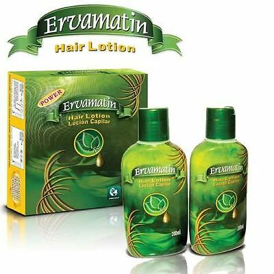 Ervamatin hair lotion 2 x 200ml Promote Hair Growth And Prevent Hair Loss.