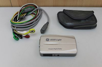 GE Seer Light 24-Hour Compact Digital Holter ECG Recorder