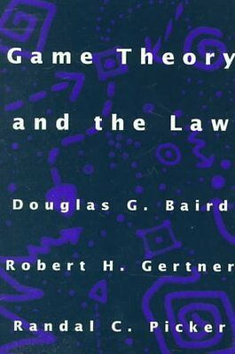 Game Theory and the Law by Douglas G. Baird 9780674341111 (Paperback, 1998)