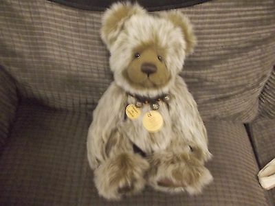 Rare Charlie Bears - Mason - Retired -  Very Good Condition Plus Tags And Bag