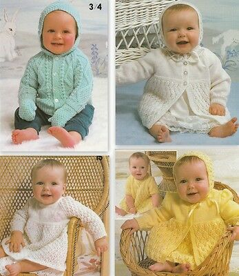 Sirdar Snuggly Knits #3 Knitting Book For Baby's-23 Designs In Sizes 36 To 51Cm