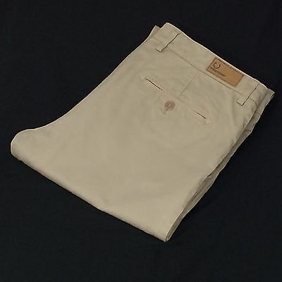 Fred Perry Mens Regular Fit  Straight Leg Chinos Trousers Size 32R