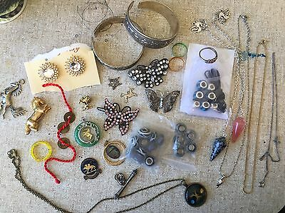 Free Post Horse Gypsy Treasure Lot Scrying Tool Necklaces Rings Bracelet Unicorn
