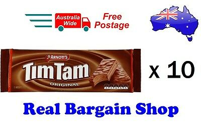 Arnott's Original Tim Tam Chocolate Original 200g X 10