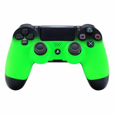 Sony Playstation Dualshock PS4 Wireless Controller Custom Soft Touch Fade Green