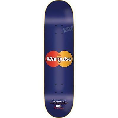 "DGK Skateboard Deck Marquise Henry 8.1"" Cease Desist Dirty Ghetto Kids FREE GRIP"