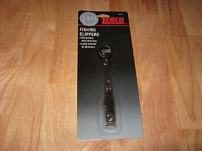 Zebco Pro Fishing Clippers w Retractable Reel w clip