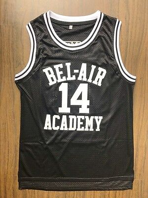 The Fresh Prince Of Bel Air Academy Jersey Will Smith Black