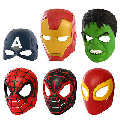 Superhero Kid Marvel America Avenger Costume Mask Halloween Party Toy Gift CT02