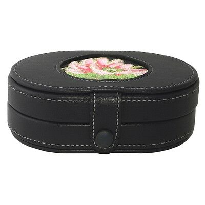 LEE Magnetic Needle Case LEATHER Black