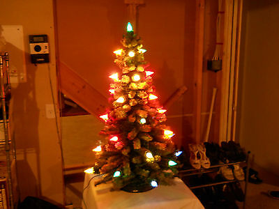 Vintage 1930s Pre-War II 32 Light C-6 Matchless Star Antique Christmas Tree