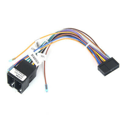 Car GPS Stereo Navigation ISO Wiring Harness Connector Adaptor Power Cable Radio