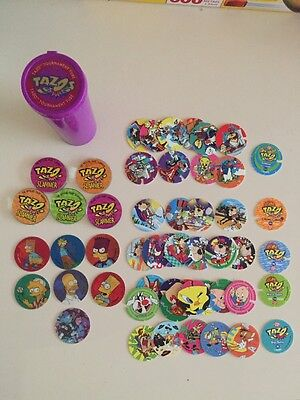 Tazo Collector Discs Pogs Bart Simpsons Slammers Mixed Rare