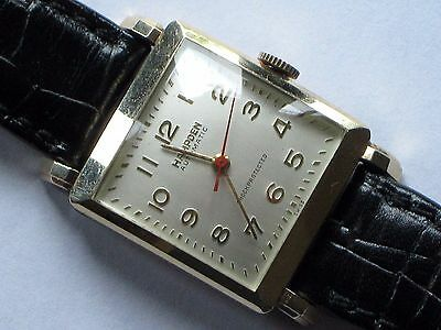 Hampton Automatic Shock Protected Mens Wrist Watch And Band - Primo Condition!
