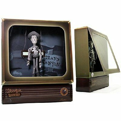 Disney D23 Expo Exclusive Woody's Roundup Budtone Tv Set Toy Story  *nu*