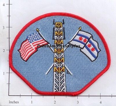 Illinois - Chicago IL Fire Dept Patch v7