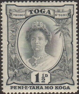 Tonga 1935 SG56 1½d Queen Salote MLH