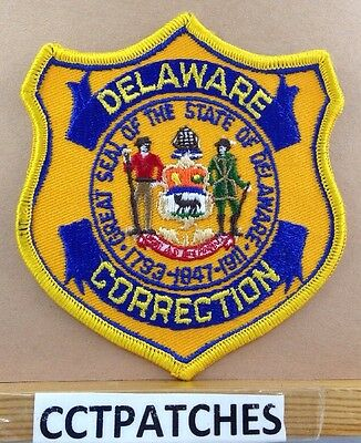 Delaware Correction (Police) Shoulder Patch De