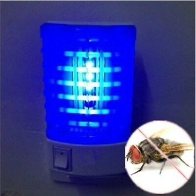 1 pcs Electric Mosquito Fly Bug Insect Trap LED Night Lamp Killer Zapper