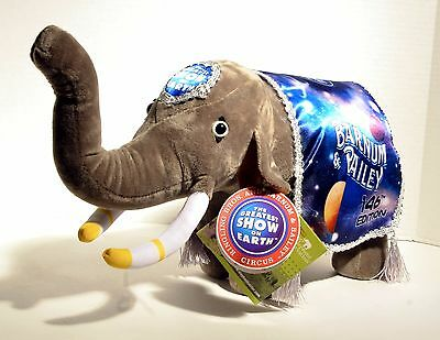 Ringling Plush Stuffed Elephant - Final Farewell 146th ed Out of the World - New