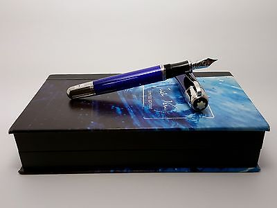 MONTBLANC Jules Verne Writers LIMITED EDITION Fountain Pen, NEVER INKED!