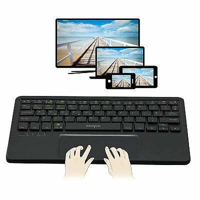 Sharon - Tastiera Bluetooth 4 in 1 con touchpad multitouch integrato | (v5M)