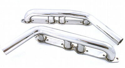 Ford Y-Block Stainless Shortie Headers 239 - 256 - 272 - 292 - 312  (113) No 2