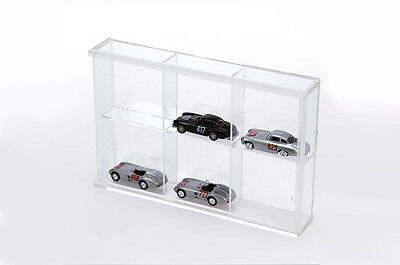 Small Cabinet Made of Acrylic Glass 6 Compartments 180 x 115 x 30 mm Safe