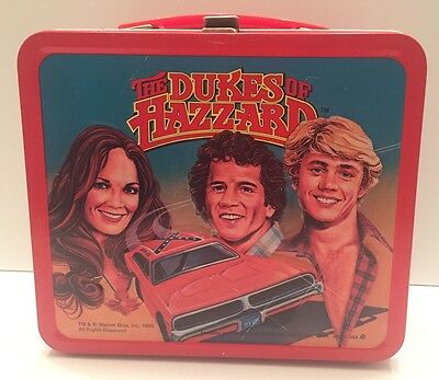 The Dukes of Hazard Metal Lunchbox Aladdin 1980 EX+ Lunch Box