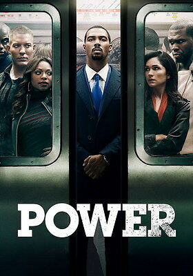 "004 Power - Omari Hardwick Action Thriller USA TV Show 14""x20"" Poster"
