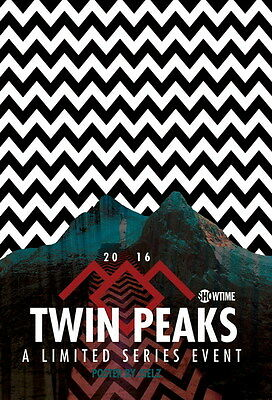 "002 Twin Peaks - Kyle MacLachlan Love Thriller USA TV Show 14""x20"" Poster"