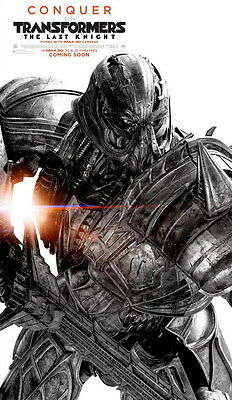 """030 Transformers 5 - The Last Knight 2017 Action Movie 14""""x24"""" Poster"""