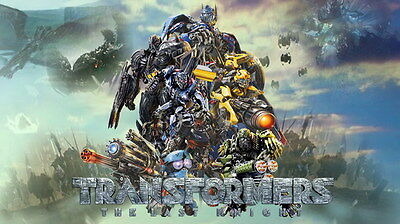 "035 Transformers 5 - The Last Knight 2017 Action Movie 24""x14"" Poster"