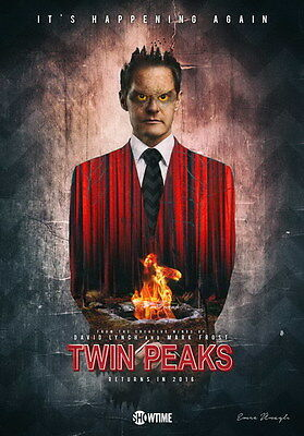"005 Twin Peaks - Kyle MacLachlan Love Thriller USA TV Show 14""x20"" Poster"